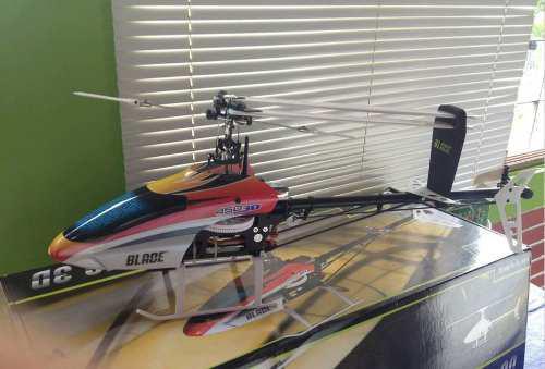 Blade 450 3d Bnf Basic Control Y Cargador