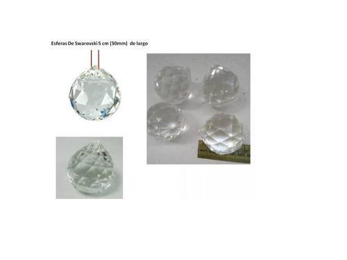 Bolas Cristal Facetado Feng Shui 5 Cm,activador De Energia