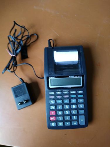 Calculadora Casio Hr-8tm 12 Digitos Sumadora