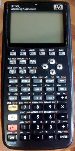 Calculadora Cientifica Hp 50g Graficadora Como Nueva Oferta