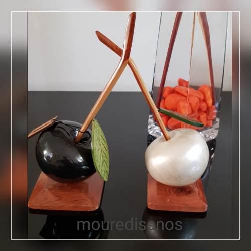 Hermosas Frutas En Madera/ Adorna Tu Hogar U Oficina !!!