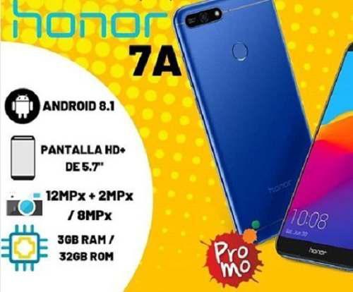 Huawei Honor 7a 3gb/32gb Factura+garantia 60dias 145v