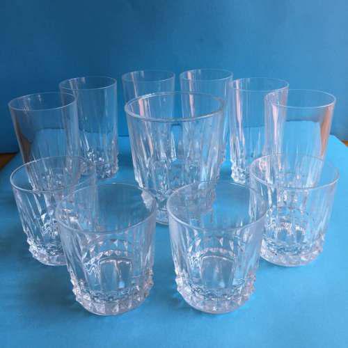 Juego De Vasos Con Hielera De Cristal D' Arques