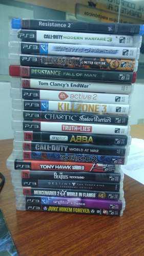 Juegos Fisicos Para Playstation 3 Ps3 Usados Desde 5vrds