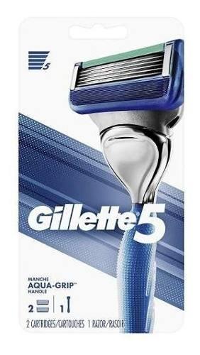 Maquina De Afeitar Gillet 5 Con 4 Repuestos Original