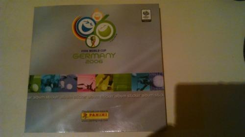 Mini Album Panini Del Mundial Alemania  Lleno - 15$