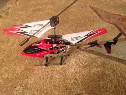 Mini Helicóptero A Control Remoto Syma