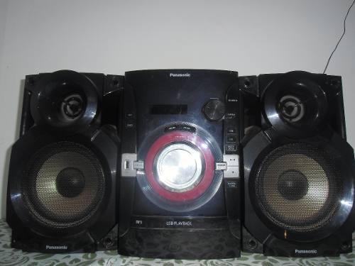 Minicomponente O Equipo De Sonido Panasonic Sc-akx14