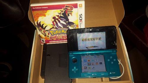 Nintendo 3ds Con Pokemon Ruby Omega Original