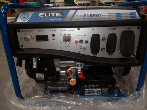 Planta Eléctrica 9000 Watts/9 Kva 110/220 Elite Energy