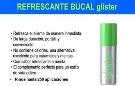 Refrescante Bucal Glister Remate