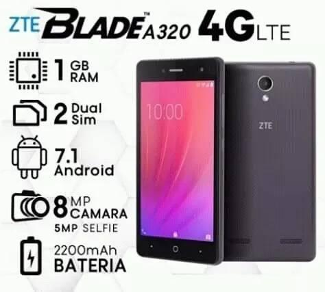 Teléfono Celular Zte Blade A320+obsequio