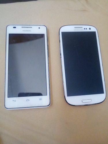 Tlf Huawei Ascend G526 (repuesto) Y Samsung S3 (repuesto)
