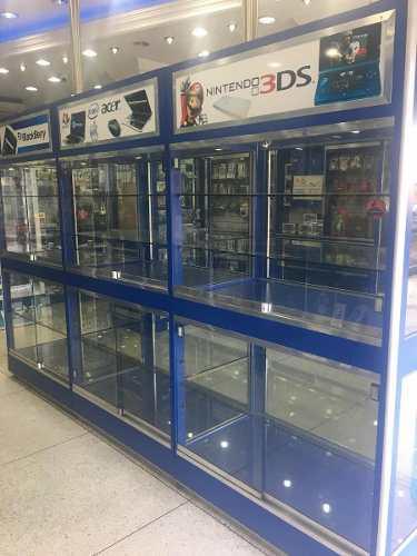 Vitrina En Fórmica Y Vidrios 5 Mm,tienda Física