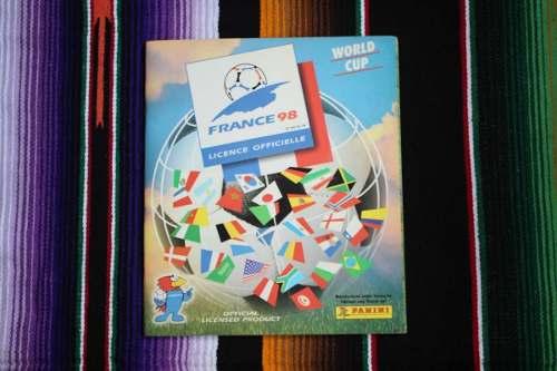 Álbum Panini Mundial Francia 98 Oficial - Lleno 99%