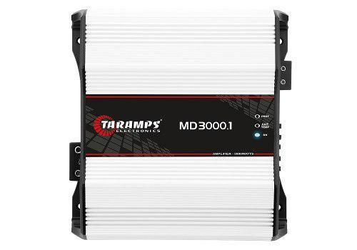 Amplificador 3000w 1 Canal 1 Ohm Taramp´s Md 3000.1
