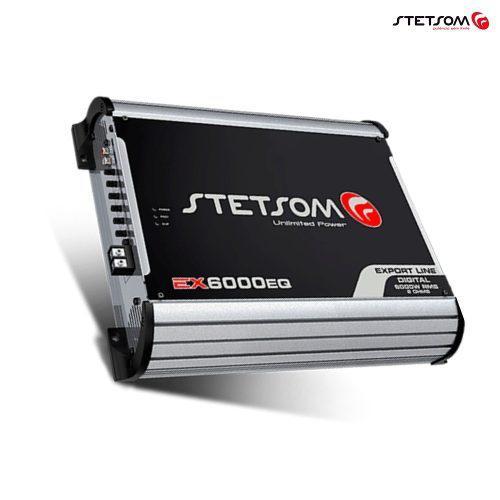 Amplificador Stetsom 6k Modelo Ex2-6000eq En 1 Ohm / 2 Ohm