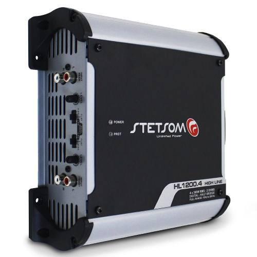 Amplificador Stetsom De 1.200w Rms 4 Ch Mod Hl-1200.4