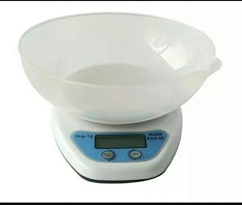 Balanza 5kg - 1grs 10$digital De Cocina
