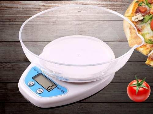 Balanza Peso Digital Cocina 5kg Calibrada Con Tasa Medidora