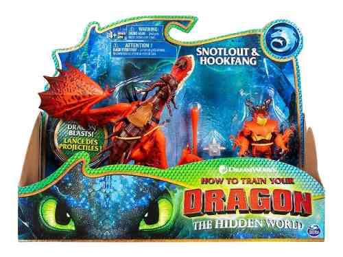 Cómo Entrenar A Tu Dragón 3 Hookfang Y Snotlout Original
