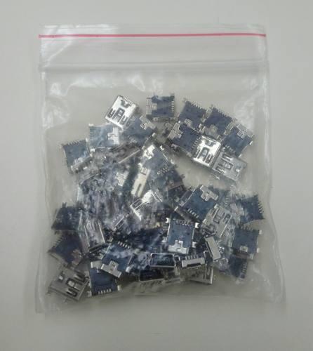 Conector Pin De Carga 50u Para Celulares, Mp3, Mp4 Y Otros