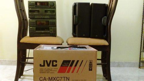Equipo De Sonido Jvc Ca-mxc7tn Para Reparar O Como Repuesto