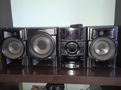 Equipo De Sonido Sony Genezi Mhc-gtr33