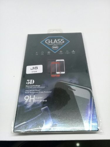Lamina De Vidrio Templado 5d Samsung J8 Somos Tienda