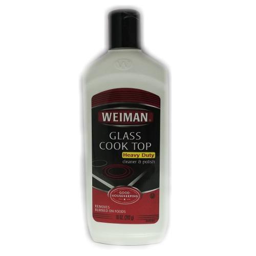 Limpiador De Cocinas Vitroceramicas Top Glass 283g Weiman