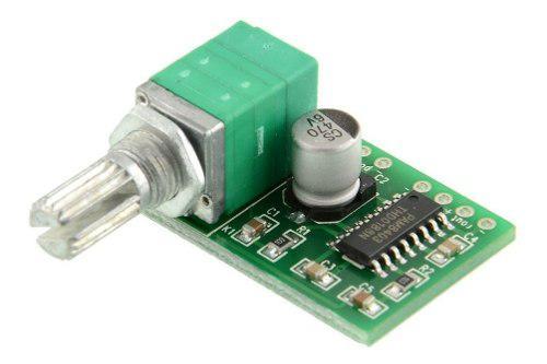 Mini Módulo Amplificador Control De Volumen Pam8403 5v Dc