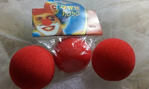 Narices Goma Espuma Payaso Clown Narices