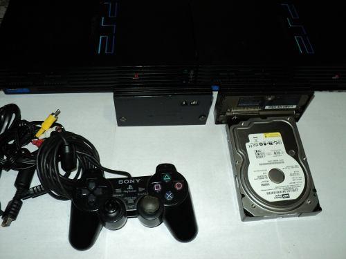 Se Vende Playstation 2 Con Adaptador De Red Y Disco Duro
