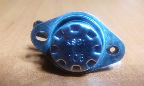 Termostato Sensor Para Microondas Ksd 105°c Nuevo
