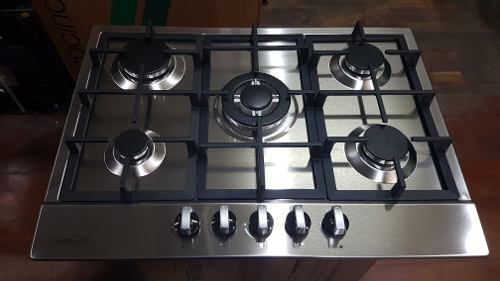 Tope De Cocina A Gas De 70 Cm Acero Premium
