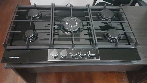 Tope De Cocina A Gas De 90 Cm Vitrocerámico Frigilux