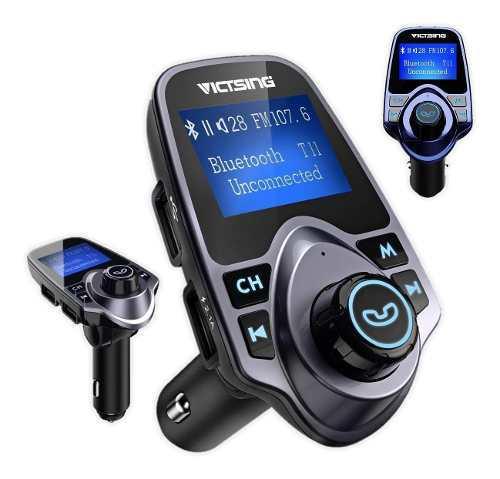 Transmisor Fm Bluetooth Mp3 Usb Micro Sd Manos Libres
