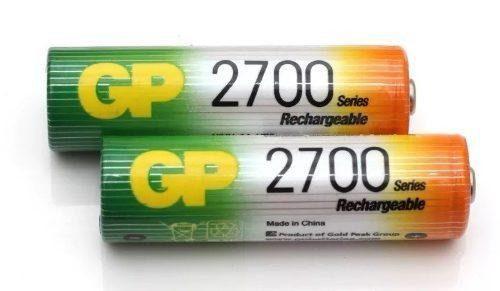 Baterias 2700 Recargables Gp