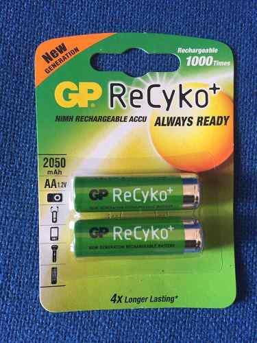Baterias Recargables Gp Recyko Doble Aa 2050mah