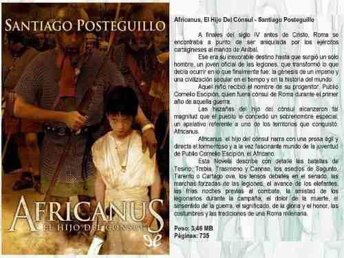 Colección Pdf Santiago Posteguillo, Conformado Por 9 Libros