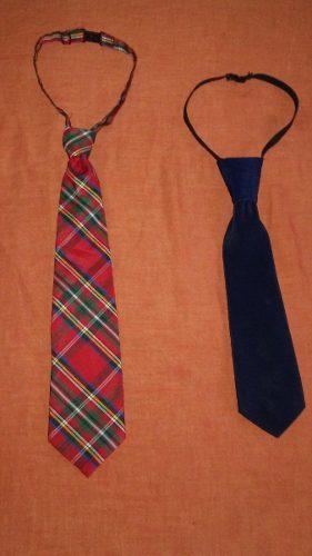 Corbata Para Niños De 4 A 7 Años, Ajustables