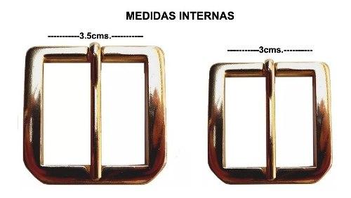 Hebillas De Bronce Para Cinturones-importadas- Precio Unidad