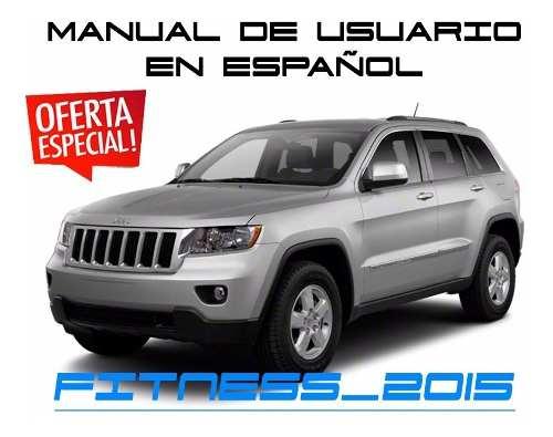 Manual De Usuario Jeep Grand Cherokee Wk Español