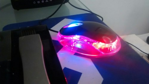 Mouse Ps2 Con Luces