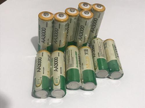 Pila Bateria Recargable Aa 3000mah /somos Tienda Fisica