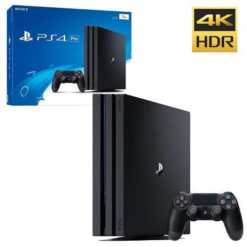 Playstation 4 Pro Ps4 1tb 4k Nuevo Somos Tienda Fisica