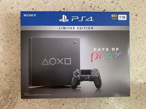 Ps4 Playstation 4 Slim 1 Tb Edicion Especial Nuevo 320