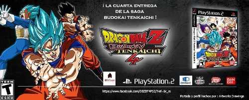 Juego Ps2 Dragon Ball Z Budokai Tenkaichi 4 Beta 6 Actualiza