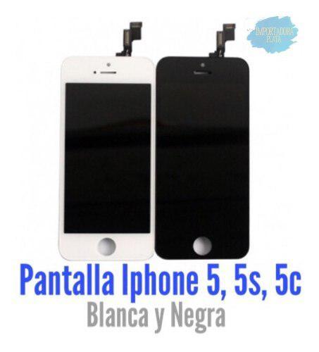 Pantallas iPhone 5, 5s Y 5c. Negra Y Blanca. Distribuidores.