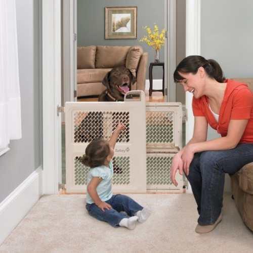 Puerta De Seguridad Para Niños Y Mascotas Safety 1st